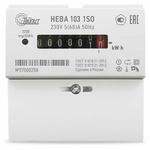 Счетчик электроэнергии однофазный НЕВА 103/5 1S0, 5-60А, однотарифный