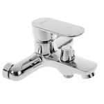 Cмеситель для ванны Accoona A6354, однорычажный, короткий излив, латунь, хром