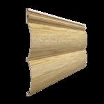 Виниловый сайдинг Docke LUX Блок-Хаус D4.7T Зрелый каштан