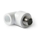Уголок полипропиленовый Pro Aqua комбинированный с наружной резьбой (PP-R)