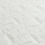 Панель самоклеющиеся Белый Кирпич 700 x 770 x 4 мм