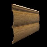 Виниловый сайдинг Docke LUX Блок-Хаус D4.7T Миндаль