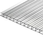 Сотовый поликарбонат List Premium прозрачный 4мм