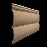 Виниловый сайдинг Docke PREMIUM Блок-Хаус D4.7T Капучино