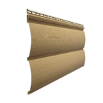 Виниловый сайдинг Docke PREMIUM Блок-Хаус D4.7T Карамель