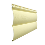 Виниловый сайдинг Docke PREMIUM Блок-Хаус D4.7T Лимон