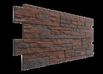 Фасадная панель Docke STEIN Тёмный орех