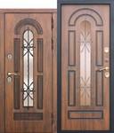 Дверь входная c ТЕРМОРАЗРЫВОМ VITRA Винорит Патина (Израиль)